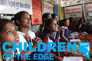 Children on the Edge with Logo