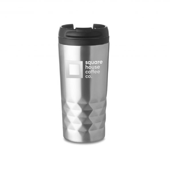 Square House Coffee Cup